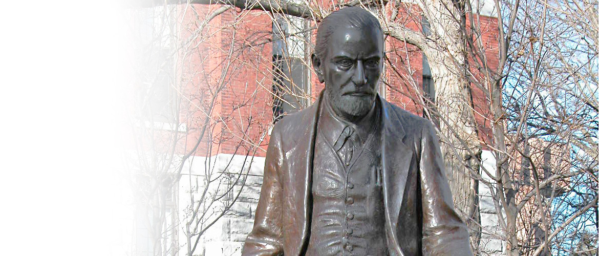 Sigmund Freud sculpture